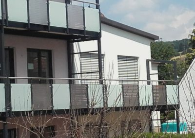 Balkonanlage Mehrfamilienhaus