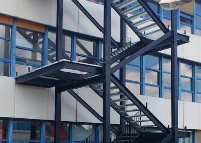 Treppe Schulzentrum